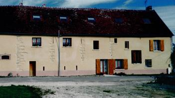 Gîte Planoy façade arrière