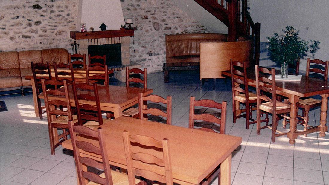 Salle de réception Gîte Planoy
